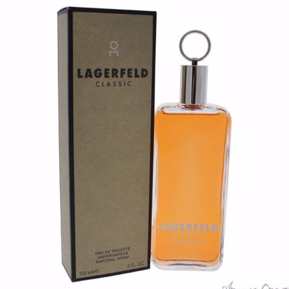 Lagerfeld Classic by Lagerfeld for Men - 5 oz EDT Spray