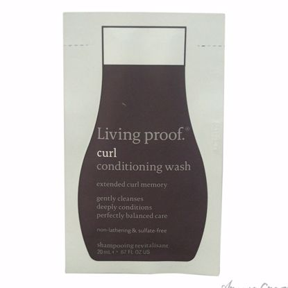 Curl Conditioning Wash by Living Proof for Unisex - 0.67 oz Conditioner - Hair Conditioner | Best Hair Conditioners | hair conditioner for dry hair | hair conditioner for womens | Moisturizing Hair Conditioner | Hair Care Products | AromaCraze.com