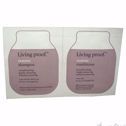 Restore Shampoo & Conditioner Duo by Living Proof for Unisex