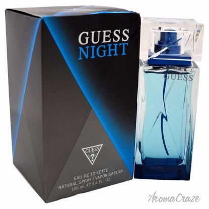 Guess Night by Guess for Men - 3.4 oz EDT Spray