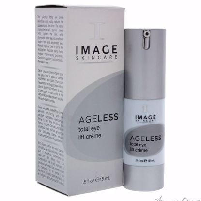 Ageless Total Eye Lift Creme by Image for Unisex - 0.5 oz Cream - Eye Care Products | Eye Treatment | Eye Skincare Products | All Natural Skin care | Best Anti Aging Skin Care Products |  AromaCraze.com