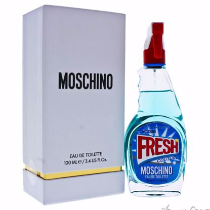 Moschino Fresh Couture by Moschino for Women - 3.4 oz EDT Sp