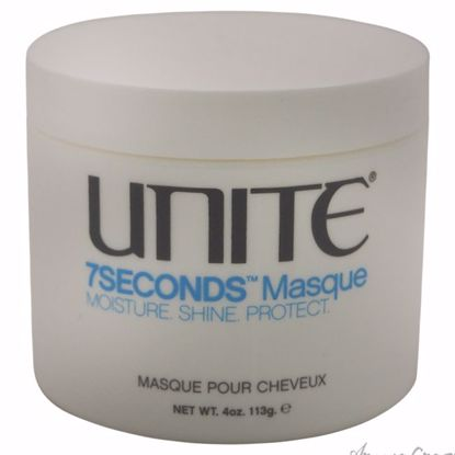 7Seconds Masque by Unite for Unisex - 4 oz Masque - Hair Treatment Products | Best Hair Styling Product | Hair Oil Treatment | Damage Hair Treatment | Hair Care Products | Hair Spray | Hair Volumizing Product | AromaCraze.com