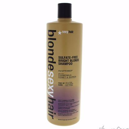 Blonde Sexy Hair Sulfate-Free Bright Blonde Shampoo by Sexy