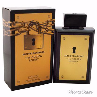 The Golden Secret by Antonio Banderas for Men - 6.75 oz EDT