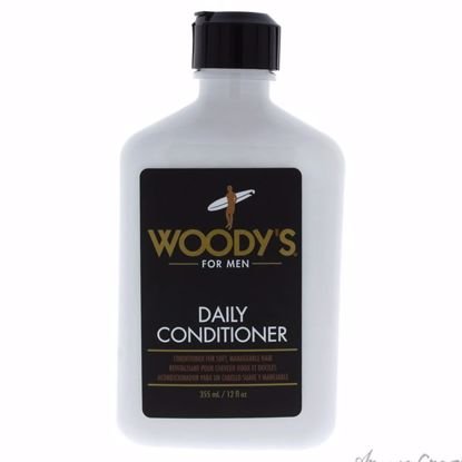 Daily Conditioner by Woodys for Men - 12 oz Conditioner