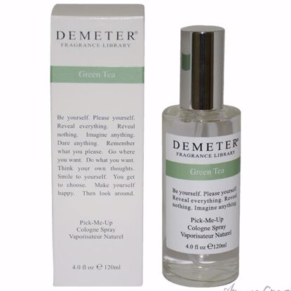 Green Tea by Demeter for Unisex - 4 oz Cologne Spray