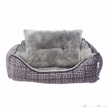 Trellis Cuddler Pet Bed by Pet Maison for Unisex - 24 x 36 x