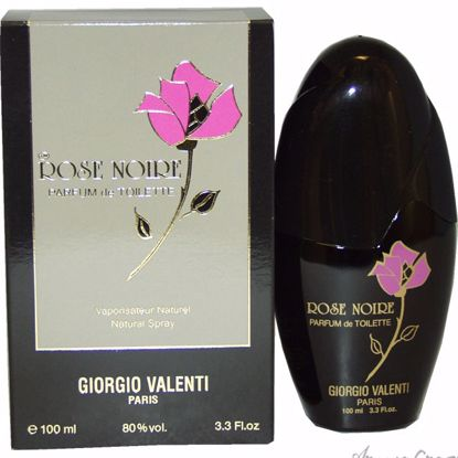 Rose Noire by Giorgio Valenti for Women - 3.3 oz PDT Spray