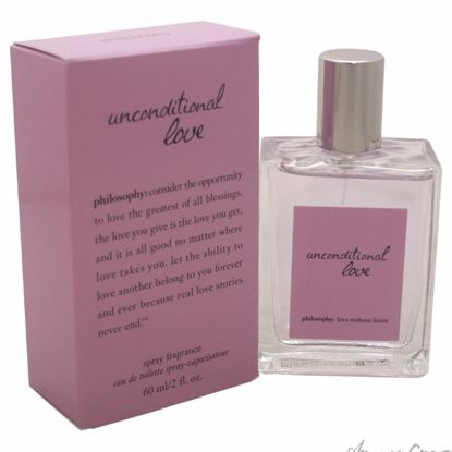 Unconditional Love by Philosophy for Women - 2 oz EDT Spray