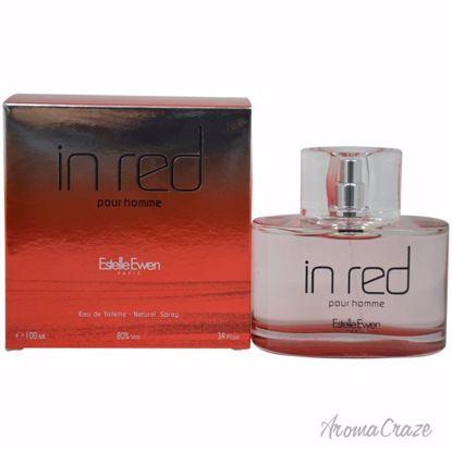 In Red Pour Homme by Estelle Ewen for Men - 3.4 oz EDT Spray