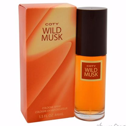 Wild Musk by Coty for Women - 1.5 oz Cologne Spray