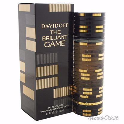 The Brilliant Game by Davidoff for Men - 3.4 oz EDT Spray