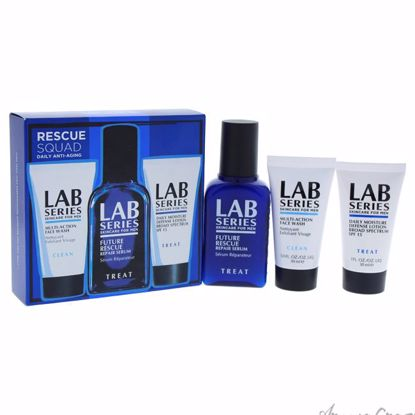 Rescue Squad Daily Anti-Aging by Lab Series for Men - 3 Pc S