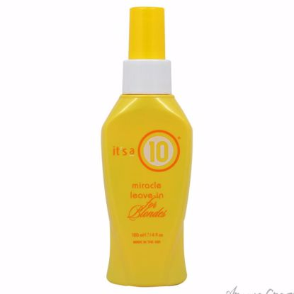 Miracle Leave-In For Blondes  by Its A 10 for Unisex - 4 oz