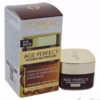 Age Perfect Hydra Nutrition Eye Balm by LOreal Paris for Unisex - 0.5 oz Eye Balm - Eye Care Products | Eye Treatment | Eye Skincare Products | All Natural Skin care | Best Anti Aging Skin Care Products |  AromaCraze.com