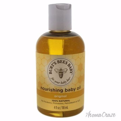 Baby Bee Nourishing Baby Oil by Burts Bees for Kids - 4 oz Oil - Top Skin Care Products | Best Anti Aging Skin Care Products| Body Care | All Natural Skin care | AromaCraze.com