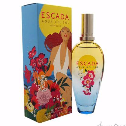 Agua Del Sol by Escada for Women - 3.3 oz EDT Spray (Limited