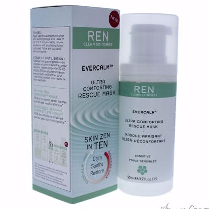 Evercalm Ultra Comforting Rescue Mask by REN for Unisex - 1.