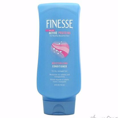 Restore Strengthen Moisturizing Conditioner by Finesse for Unisex - 24 oz Conditioner - Hair Conditioner | Best Hair Conditioners | hair conditioner for dry hair | hair conditioner for womens | Moisturizing Hair Conditioner | Hair Care Products | AromaCraze.com