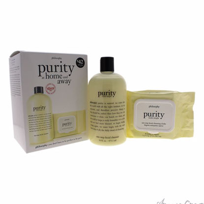 Purity at Home and Away Duo by Philosophy for Unisex - 2 Pc