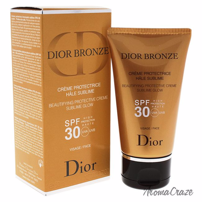 7572329b3 Dior Bronze Beautifying Protective Creme Sublime Glow SPF 30 For ...