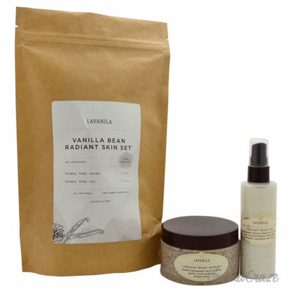 Vanilla Bean Radiant Skin Set by Lavanila for Women - 2 Pc S