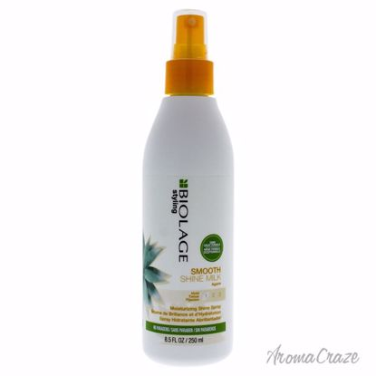 Biolage Styling Smooth Shine Milk by Matrix for Unisex - 8.5 oz Milk - Hair Styling Products | Hair Styling Cream | Hair Spray | Hair Styling Products For Men | Hair Styling Products For Women | Hair Care Products | AromaCraze.com