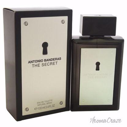 The Secret by Antonio Banderas for Men - 3.4 oz EDT Spray