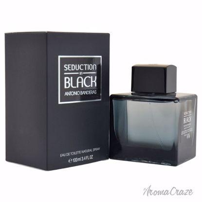 Seduction In Black by Antonio Banderas for Men - 3.4 oz EDT