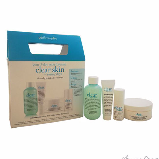 Clear Days Ahead Acne Trial Kit by Philosophy for Unisex - 4