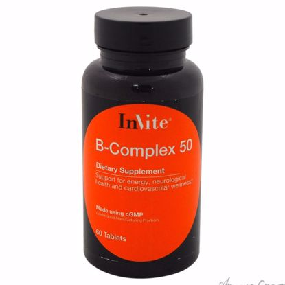 B-Complex 50 Dietary Supplement by InVite Health for Unisex