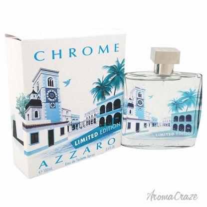 Chrome by Loris Azzaro for Men - 3.4 oz EDT Spray (Limited E