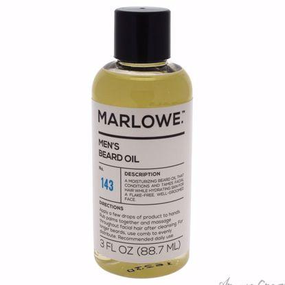 No. 143 Mens Beard Oil by Marlowe for Men - 3 oz Oil