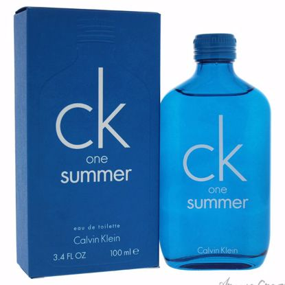 16956f316 CK One Summer by Calvin Klein for Unisex - 3.4 oz EDT Spray (2018 Limited  Edition)