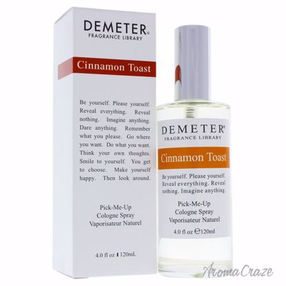Cinnamon Toast by Demeter for Women - 4 oz Cologne Spray