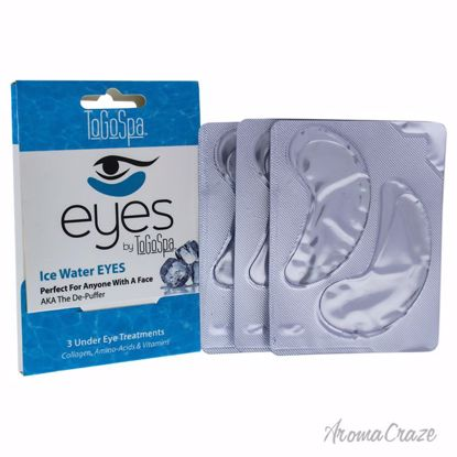 Ice Water Eyes Treatment by To Go Spa for Unisex - 3 Pair Ey