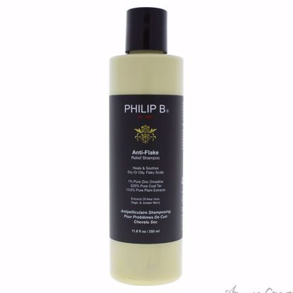 Anti-Flake Relief Shampoo by Philip B for Unisex - 11.8 oz S