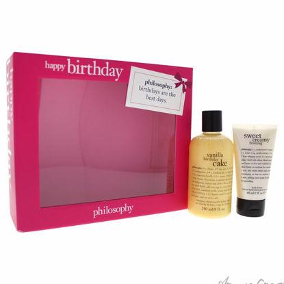 Happy Birthday by Philosophy for Women - 2 Pc Kit 8oz Vanill