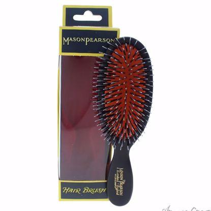 Pocket Bristle & Nylon Brush - # BN4 Dark Ruby by Mason Pear