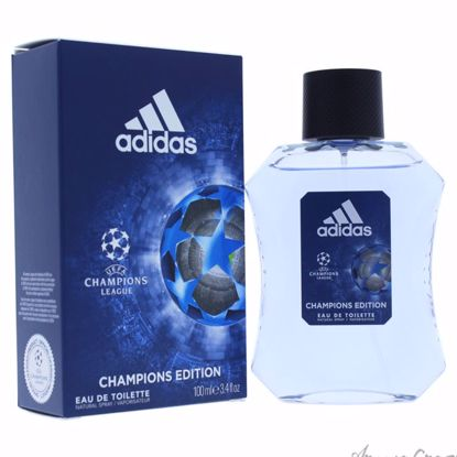 UEFA Champions League by Adidas for Men - 3.4 oz EDT Spray (