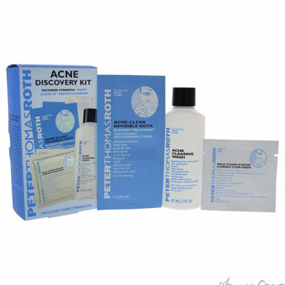 Acne Discovery Kit by Peter Thomas Roth for Unisex - 3 Pc Ki