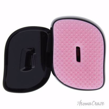 Compact Styler Detangling Hairbrush - Pink Leopard by Tangle