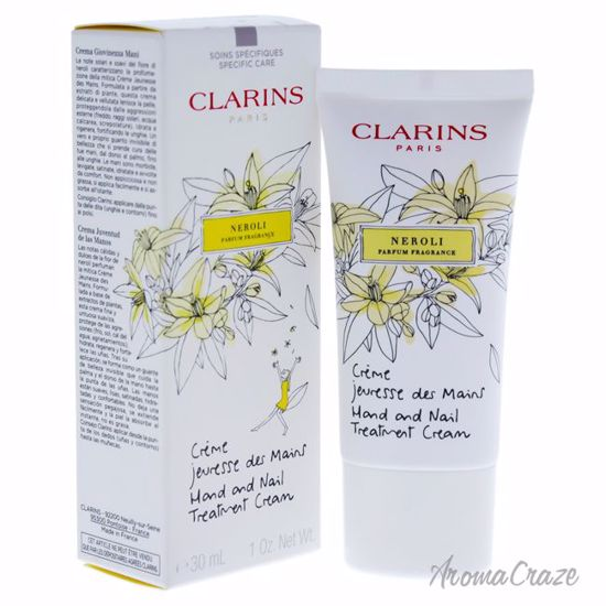 Hand and Nail Treatment Cream Neroli by Clarins for Women - 1 oz Cream - Hands and Nails Care Products   Top Skin Care Products   All Natural Skin care   AromaCraze.com