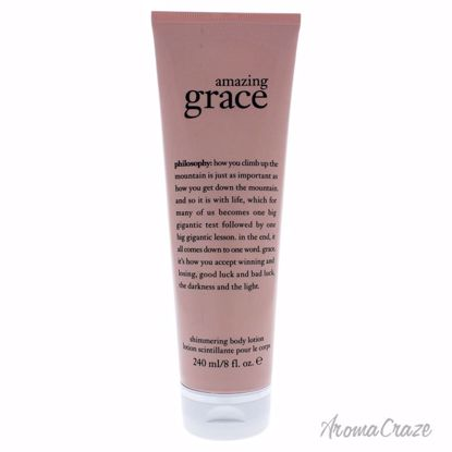 Amazing Grace Shimmering Body Lotion by Philosophy for Unisex - 8 oz Body Lotion - Top Skin Care Products | Best Anti Aging Skin Care Products| Body Care | All Natural Skin care | AromaCraze.com