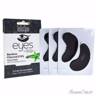 Bamboo Charcoal Eyes Treatment by To Go Spa for Unisex - 3 P