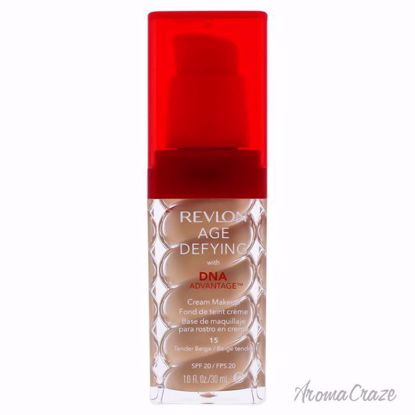 Revlon Age Defying with DNA Advantage Cream Makeup - 15 Tender Beige for Women - 1 oz Foundation