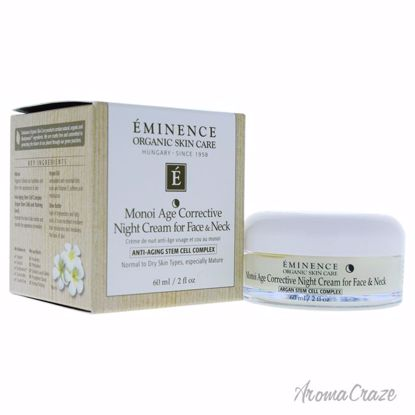 Monoi Age Corrective Night Cream for Face and Neck by Eminen