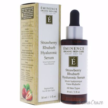 Strawberry Rhubarb Hyaluronic Serum by Eminence for Unisex -
