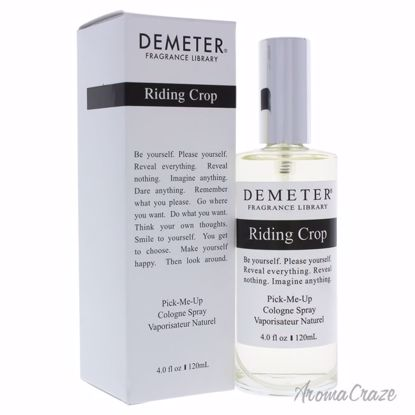Riding Crop by Demeter for Unisex - 4 oz Cologne Spray